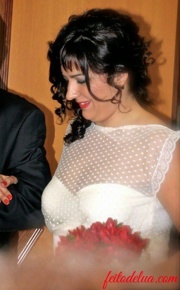 Vestido de novia DIY Plumeti y mikado de seda