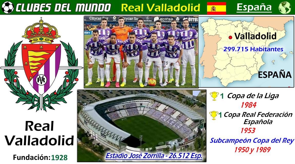 El Real Valladolid Acaba De Ascender En 2018 A Primera División Del Futbol Español Después De Pasar 4 Temporadas En Segunda Los Club Valladolid España España