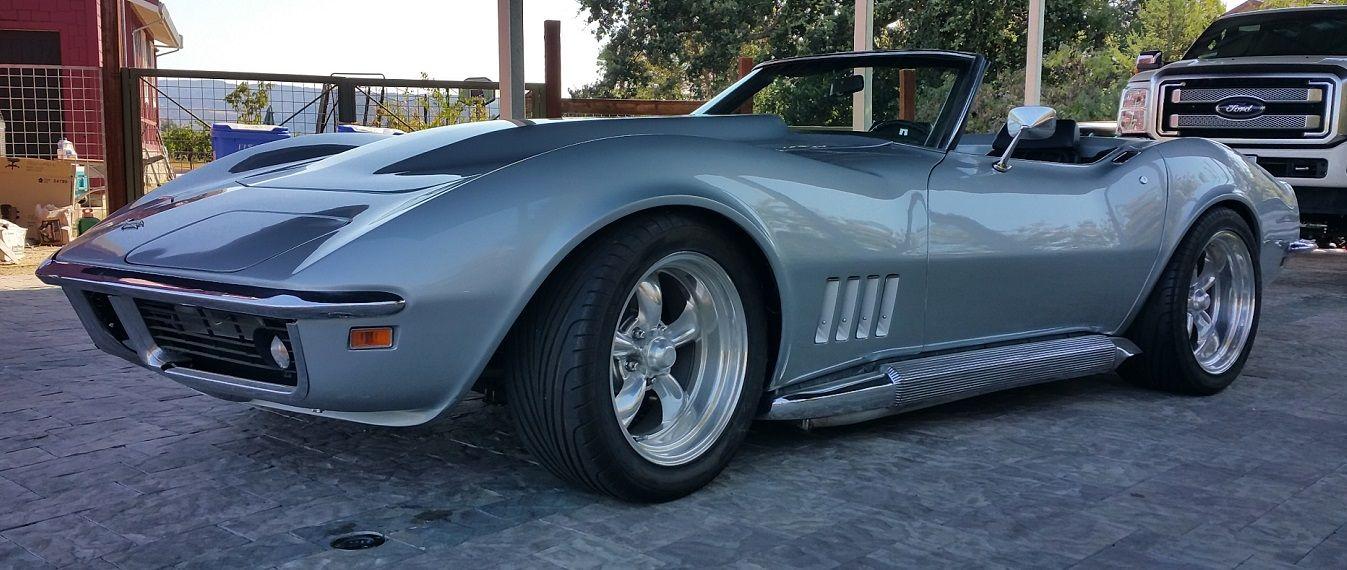 C3 1969 Vert 5spd Resto Mod - $35k w/hardtop - Corvette