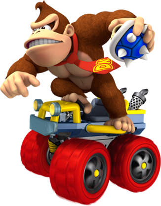 Donkey Kong Donkey Kong Mario Kart 7 Mario Kart