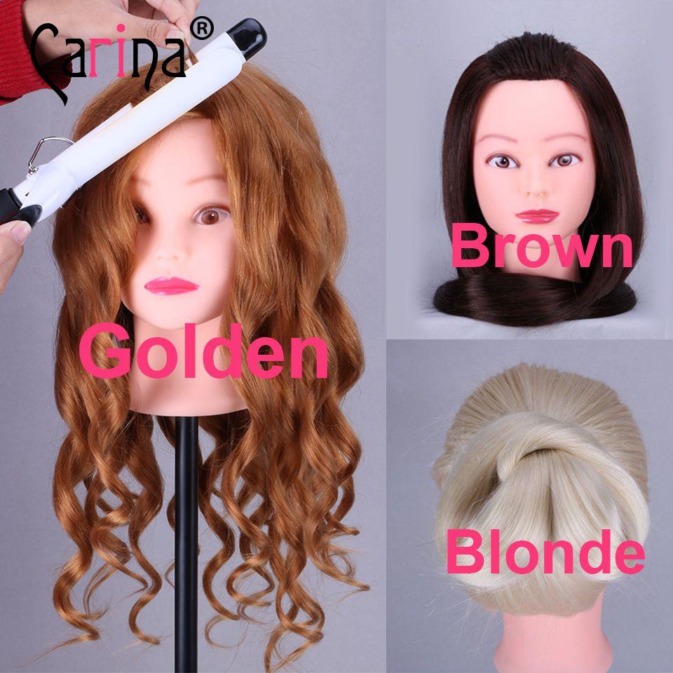 20 Golden Mannequin Head 50 Real Hair Professional Styling Head For Hairdresser Traini Hair Mannequin Black Girl Braided Hairstyles Little Black Girls Braids