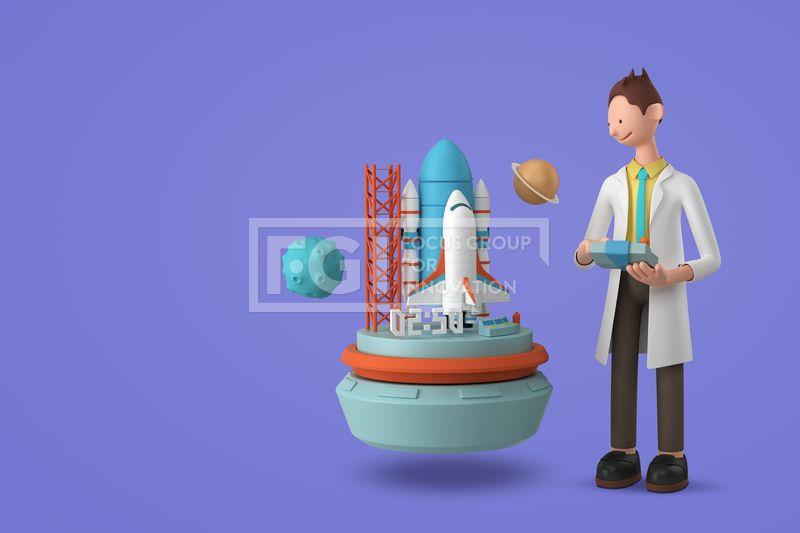 FUS161, 프리진, 그래픽, 사람, 3D, 입체, 입체적인, 입체효과, 비주얼, Create, 캐릭터, 인물, 직업, 에프지아이, 배경, 백그라운드, 편집포토, 창조, 1인, 귀여운, 남자, 과학자, 로켓, 조종, 위성, 행성, 발사, 과학, 연구, 우주, 기지, FUS161a, graphic, graphics  #유토이미지 #프리진 #utoimage #freegine 20101680