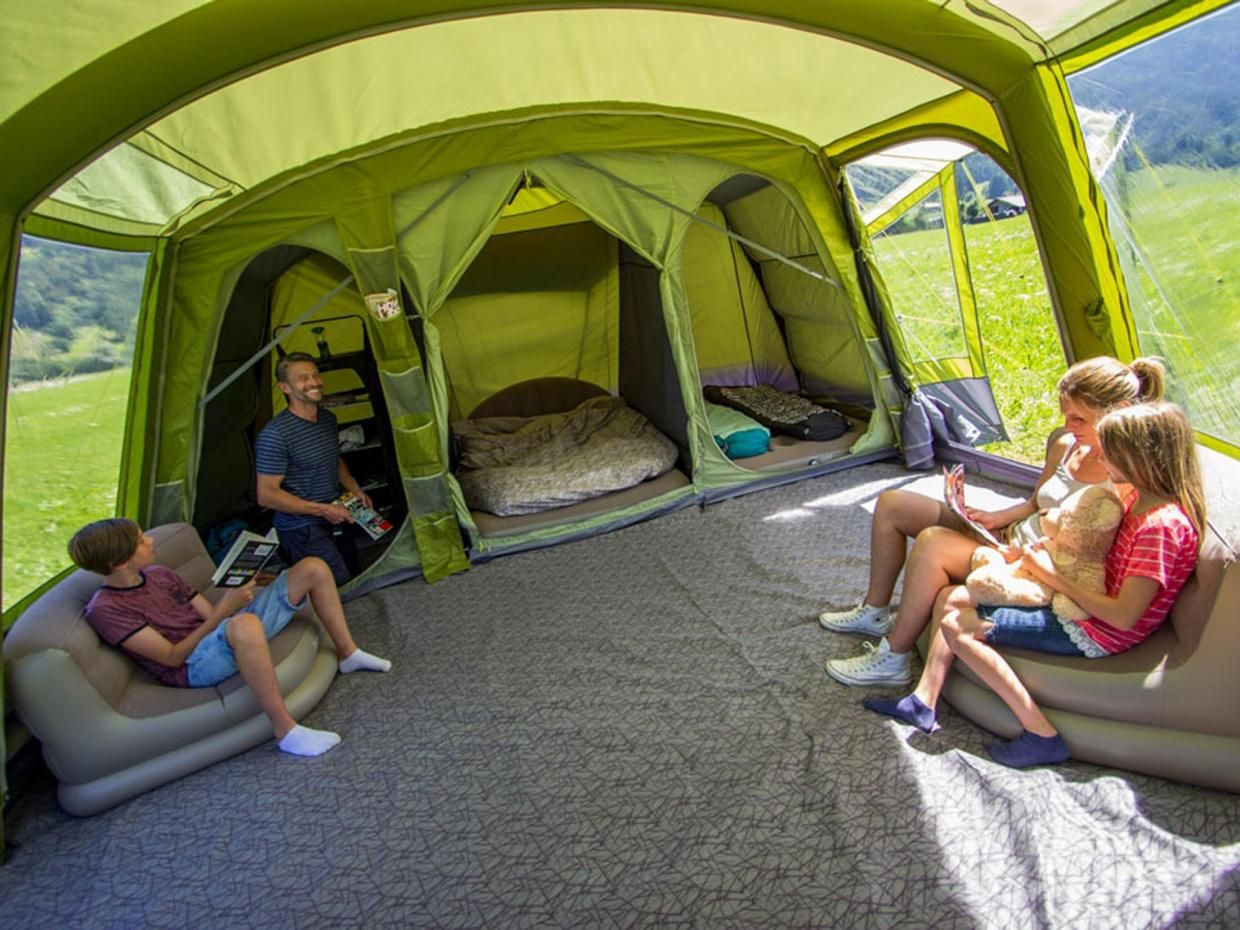 8 best family tents that are spacious, portable and quick to set up #campingideas