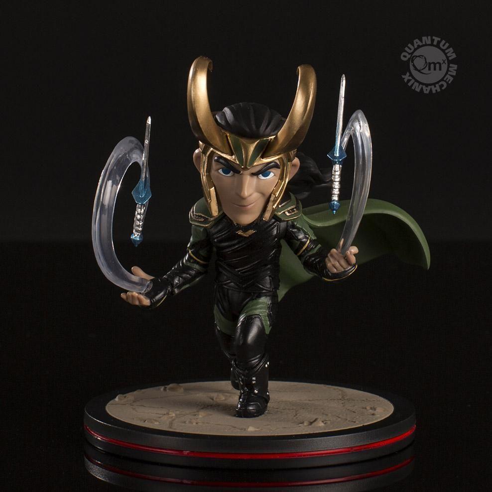 QMX Thor Ragnarok Loki Q-Figue Marvel figure