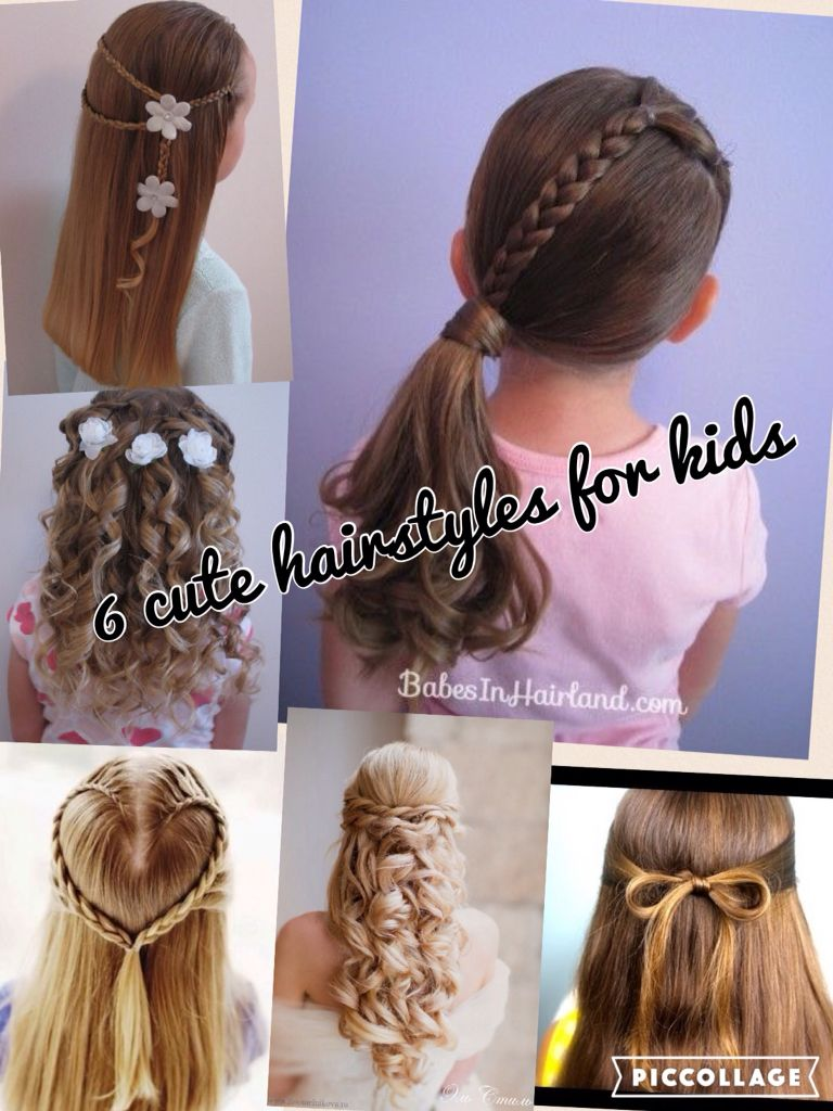 6 cute hairstyles for kids please follow to get more hairstyles