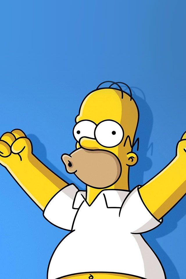 Freeios7 Homer Simpsons Yoohoo Freeios7 Com The Simpsons Simpsons Cartoon Simpsons Art
