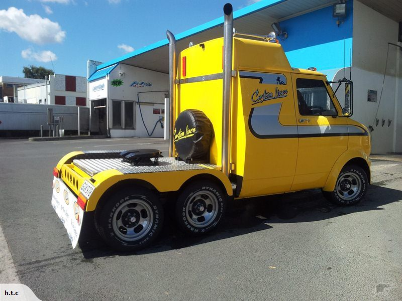Gmc 6 wheel minitruck trade me custom vans big trucks