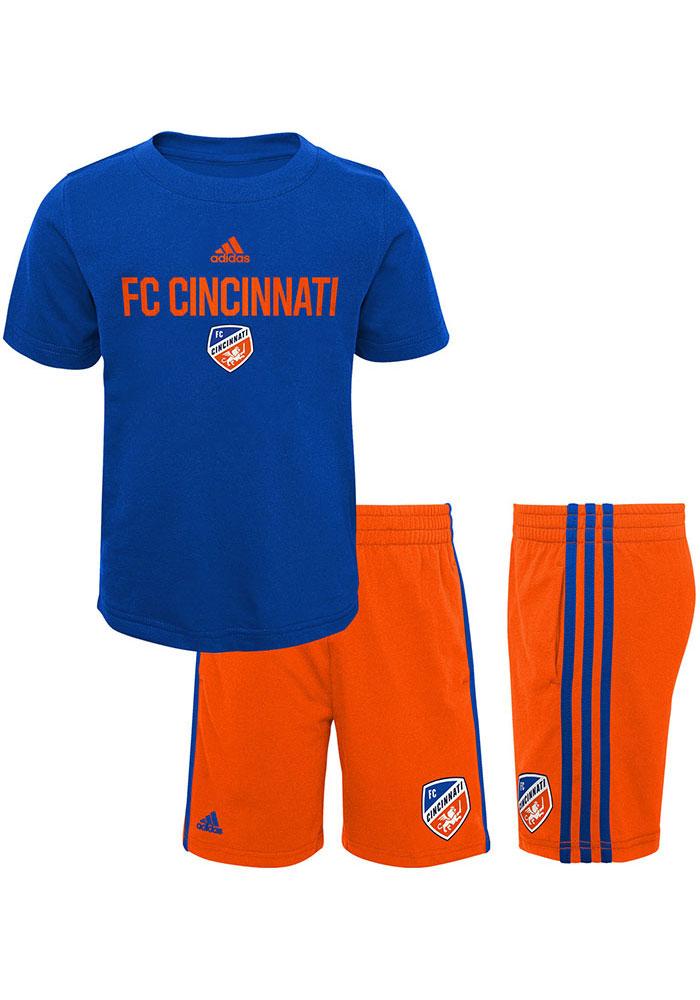 online store 31351 4fe2f FC Cincinnati Toddler Blue Locker Stacked Set Top and Bottom ...