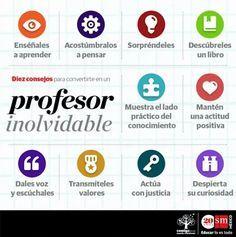 10 Conductas de un Gran Profesor | #Infografía #Educación