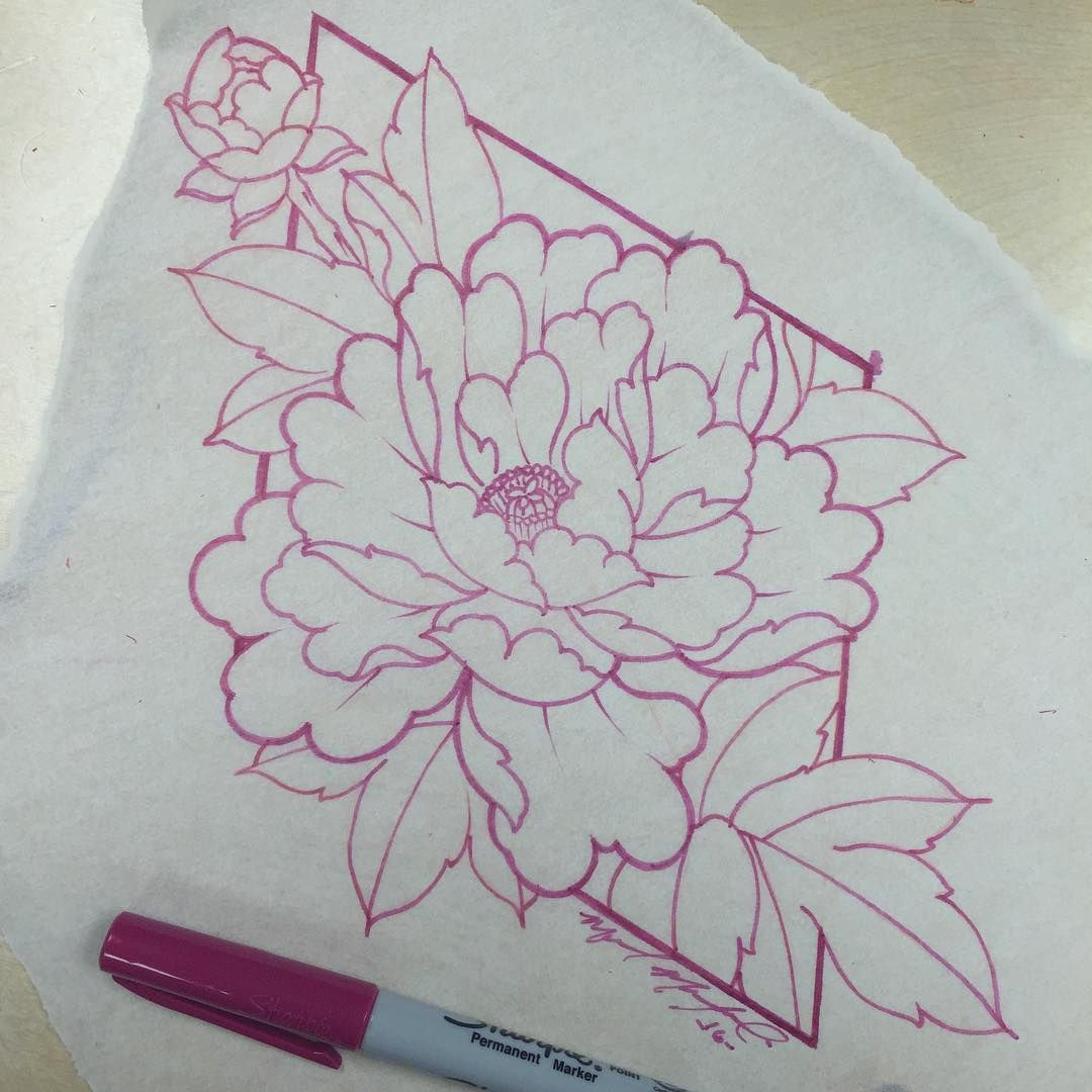 I like the peony budding | Cover up | Peonies tattoo, Flower tattoos ...