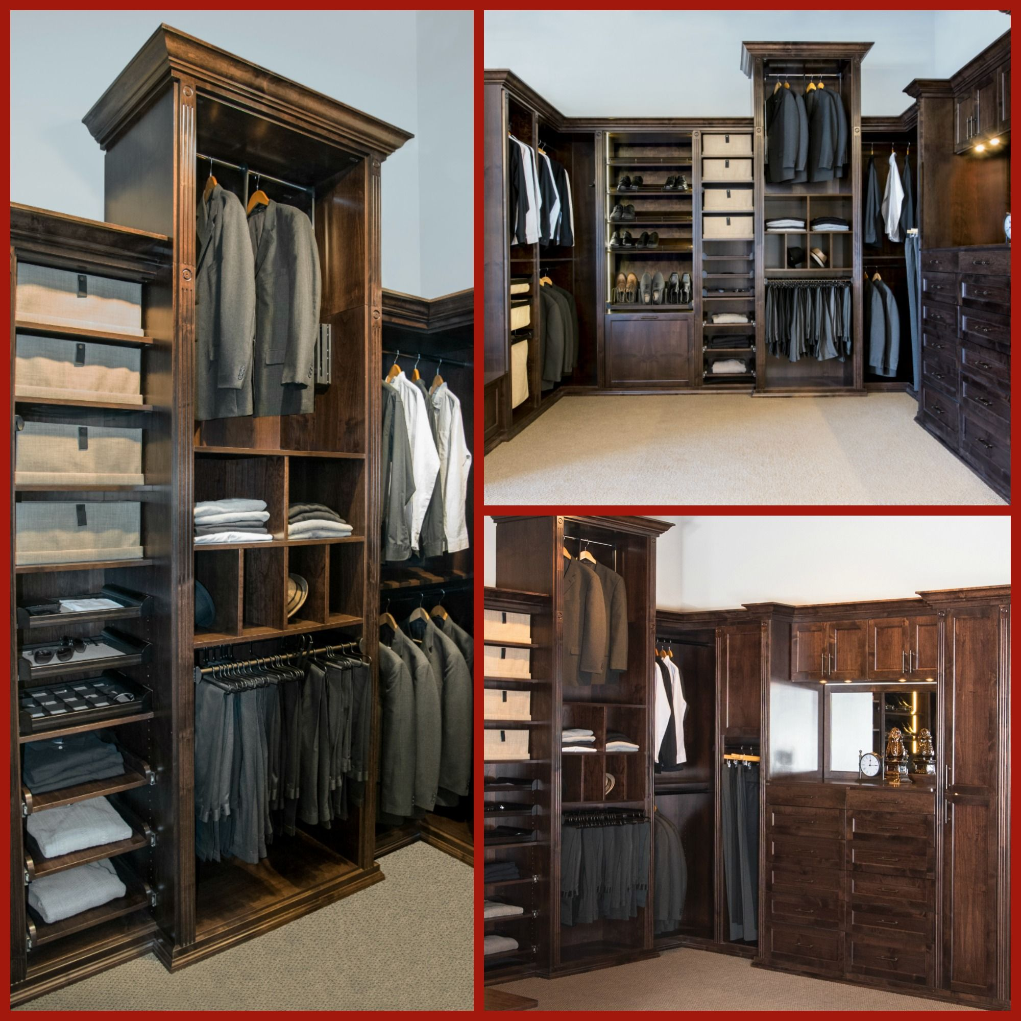 Elegant Clean And Organized Classic Men S Closet For Any Man Want