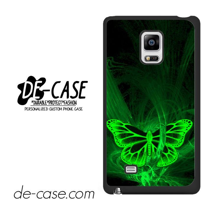 Butterfly Neon Green DEAL-2202 Samsung Phonecase Cover For Samsung Galaxy Note Edge