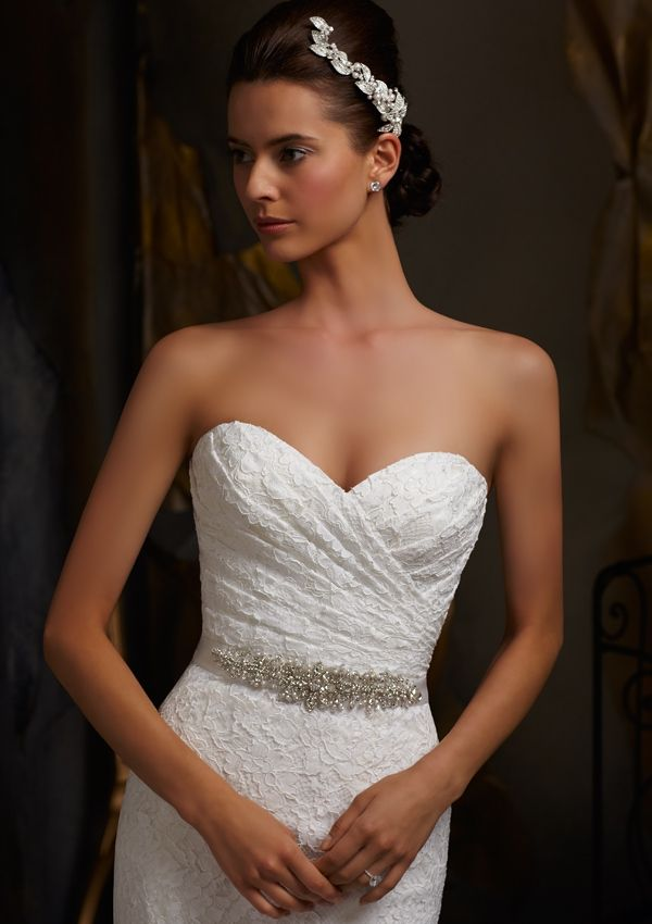 Try on this beautiful lace dress at Bobbies Bridal in Peoria, IL ...