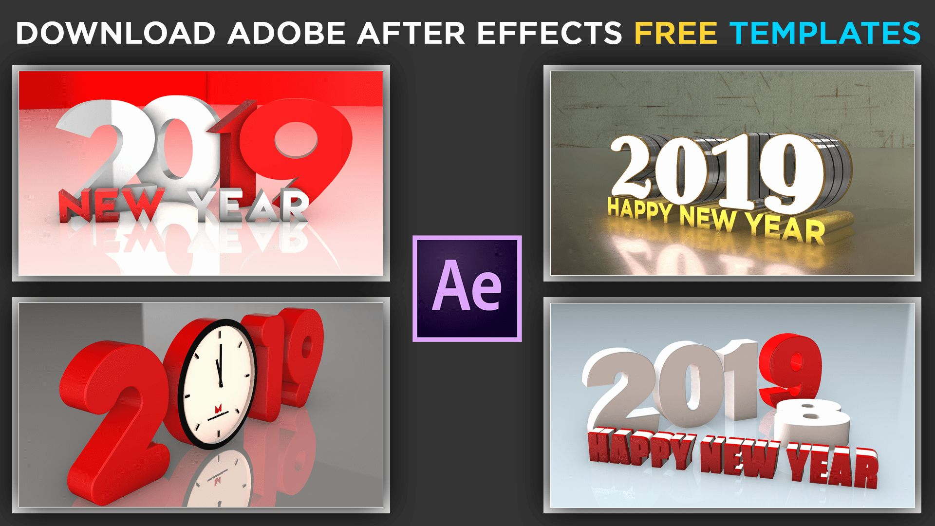 After Effects Template Free Slideshow In 2020 After Effects