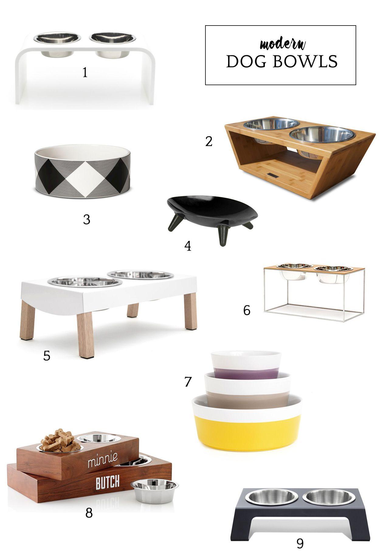 Modern Dog Bowls Natural Dog Food Dog Bowls Dog Furniture