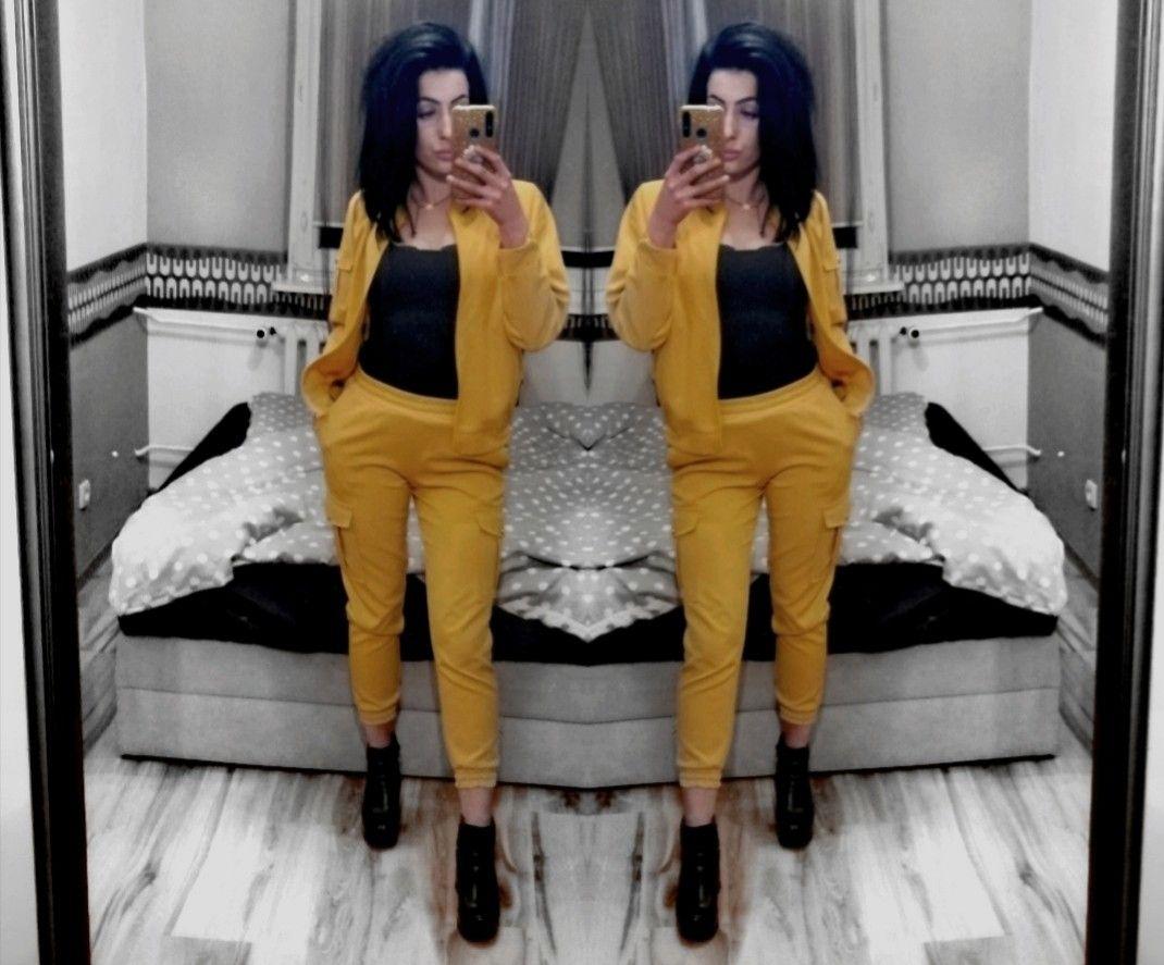 #polishgirl #brunettegirl #girl #outfit #yellow #spring