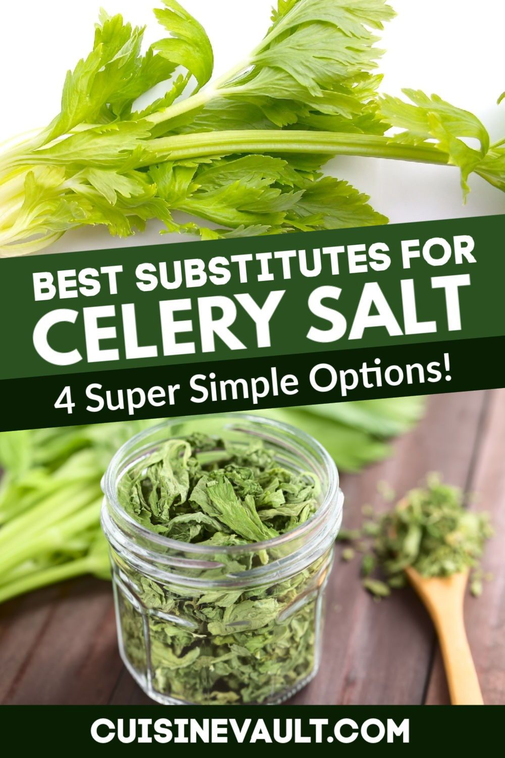 Do You Need A Celery Salt Substitute Salt Substitute Vegetable Crisps Ingredient Substitutions