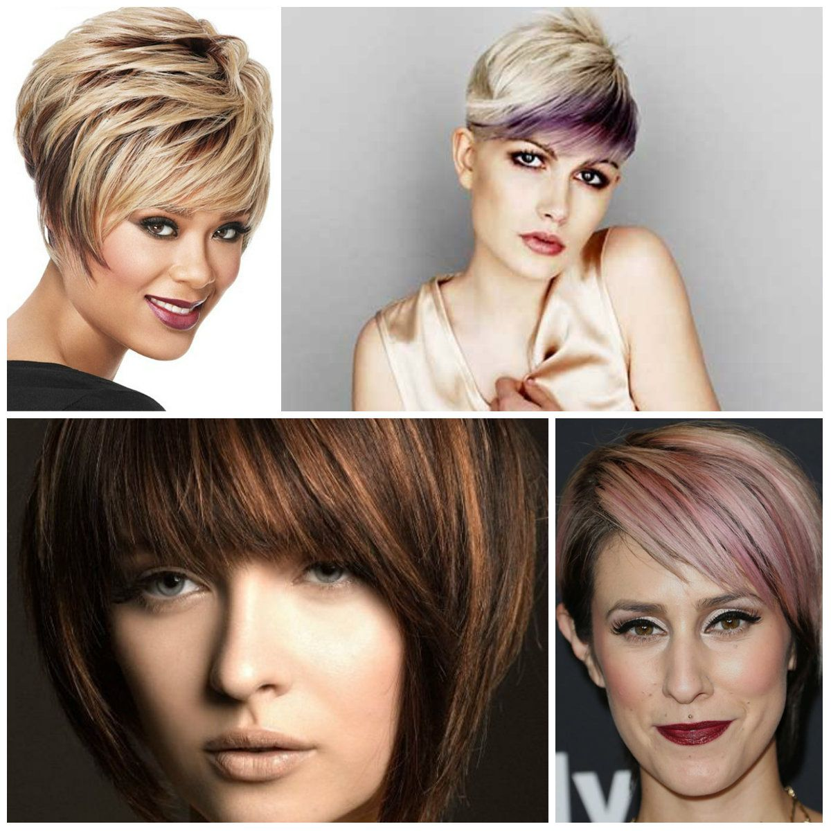 coolest hair highlights for short haircuts 2017 best color