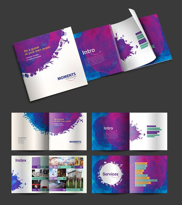 Brochure-Design-Ideas-2016--for-Moments | Grid | Pinterest ...