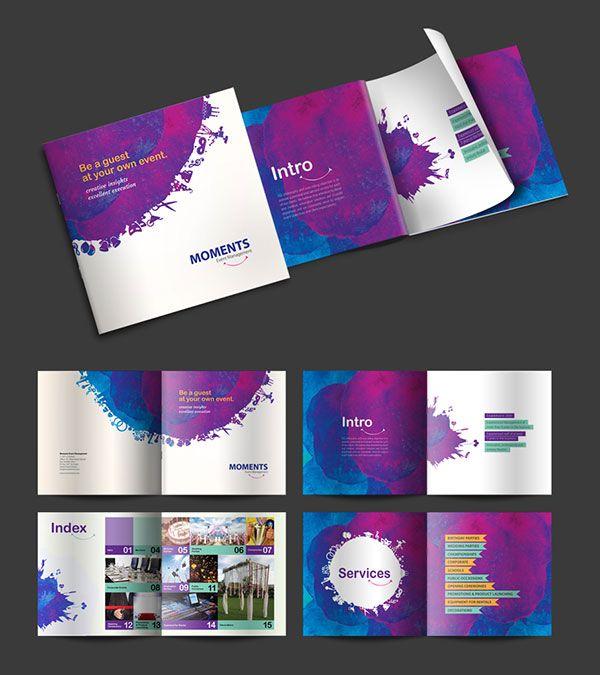 Brochure Design Ideas 2016 For Moments Grid Pinterest