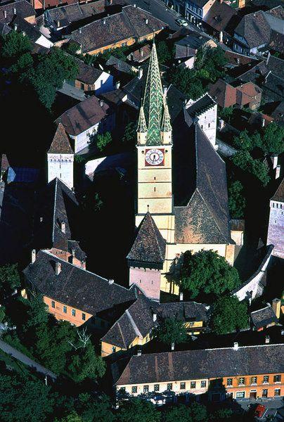 Mediasch - Luftbild Nr. 3