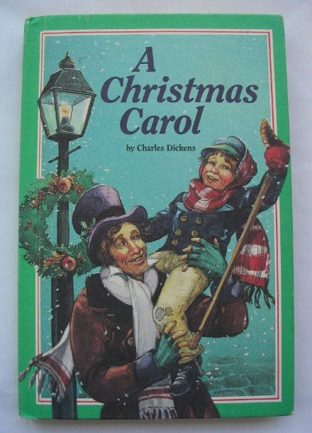 a christmas carol by charles dickens vintage weekly reader book 1979