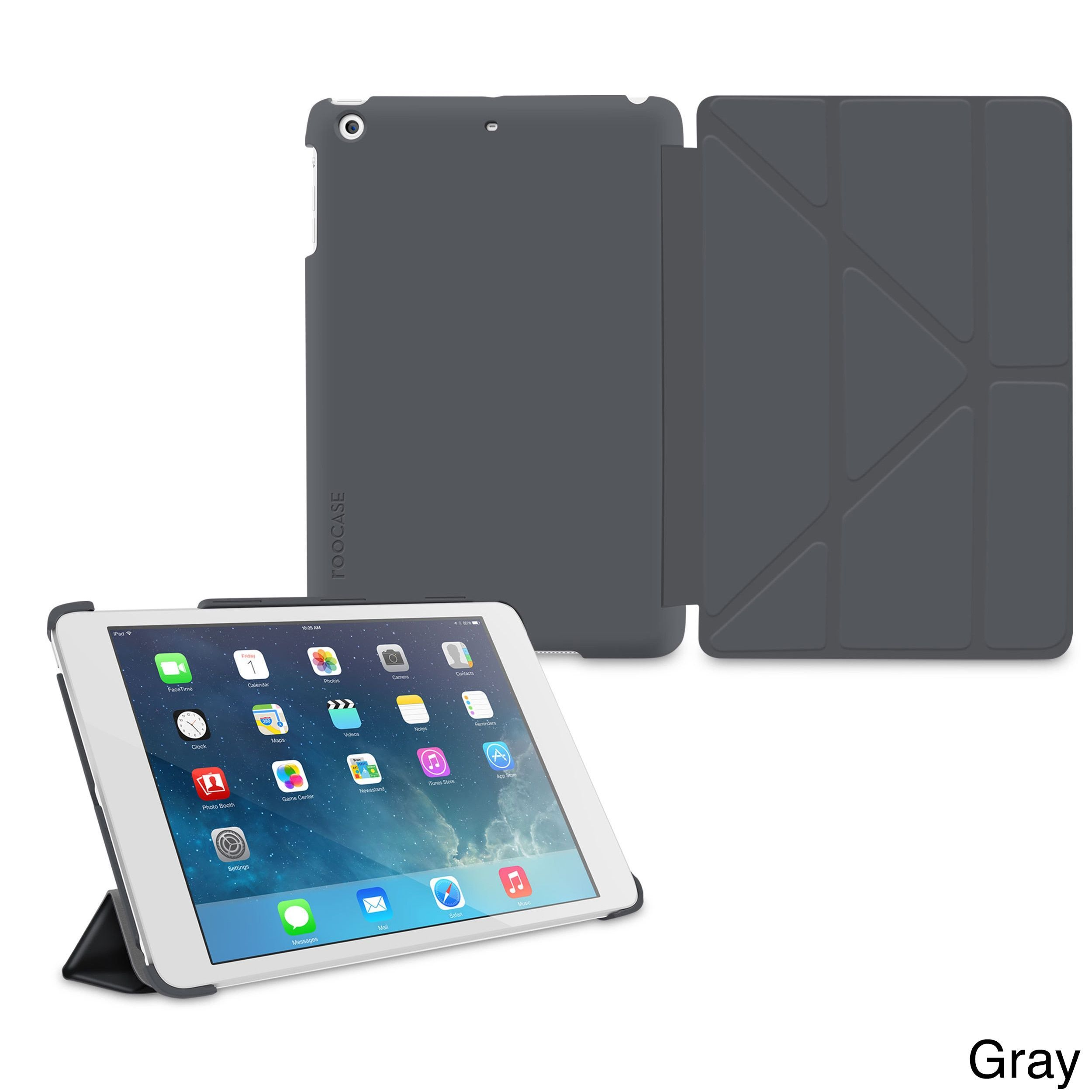 Roocase Slim Shell Origami Folio Case Smart Cover For Apple Ipad Air