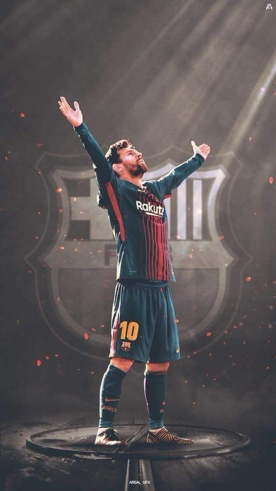 Messi wallpaper El Clásico 2017 #futboldibujos