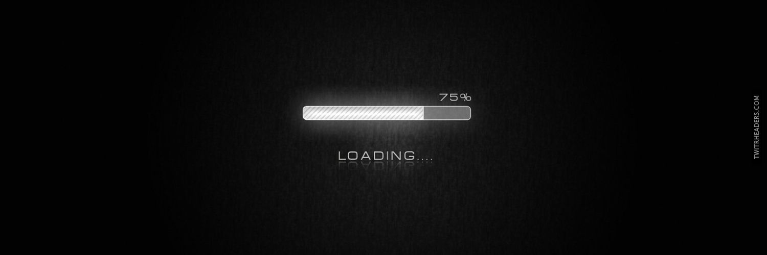 Loading Bar Twitter Header Cover Twitrheaderscom 1110