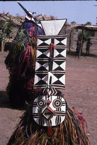 Village of Sawara, cental Burkina Faso, 2002, mask performance, plank mask. Found University of Iowa's site: http://www.uiowa.edu/~africart/Sawara%20masks/index.htm .  Main page here: http://www.uiowa.edu/~africart/   burkina_0707_sawara.jpg (321×480)