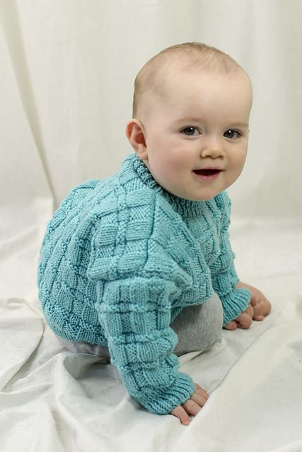 3d1d038ca Daniel s Pullover Free Baby Knitting Pattern. Skill Level  Intermediate  Sizes  6 months (12 months