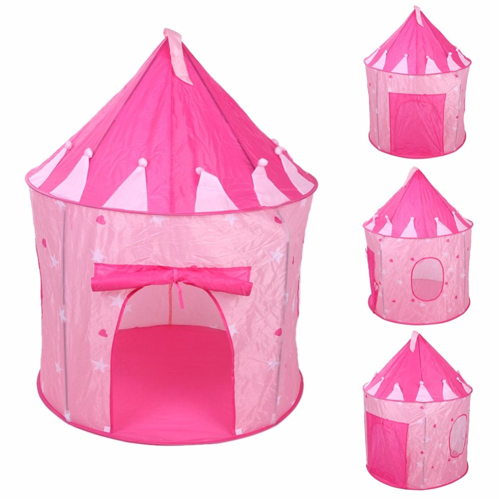 Pop Up Play Tent Kids Girl Princess Castle Outdoor House Tent Portable Pink Children Gifts  sc 1 st  Pinterest & Pop Up Play Tent Kids Girl Princess Castle Outdoor House Tent ...