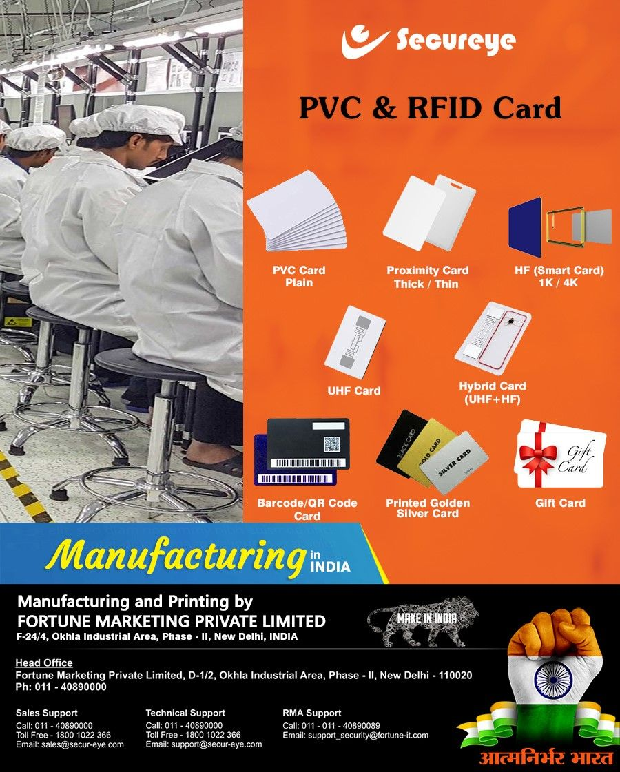 Pvc and rfid cards in 2020 proximity card printed cards