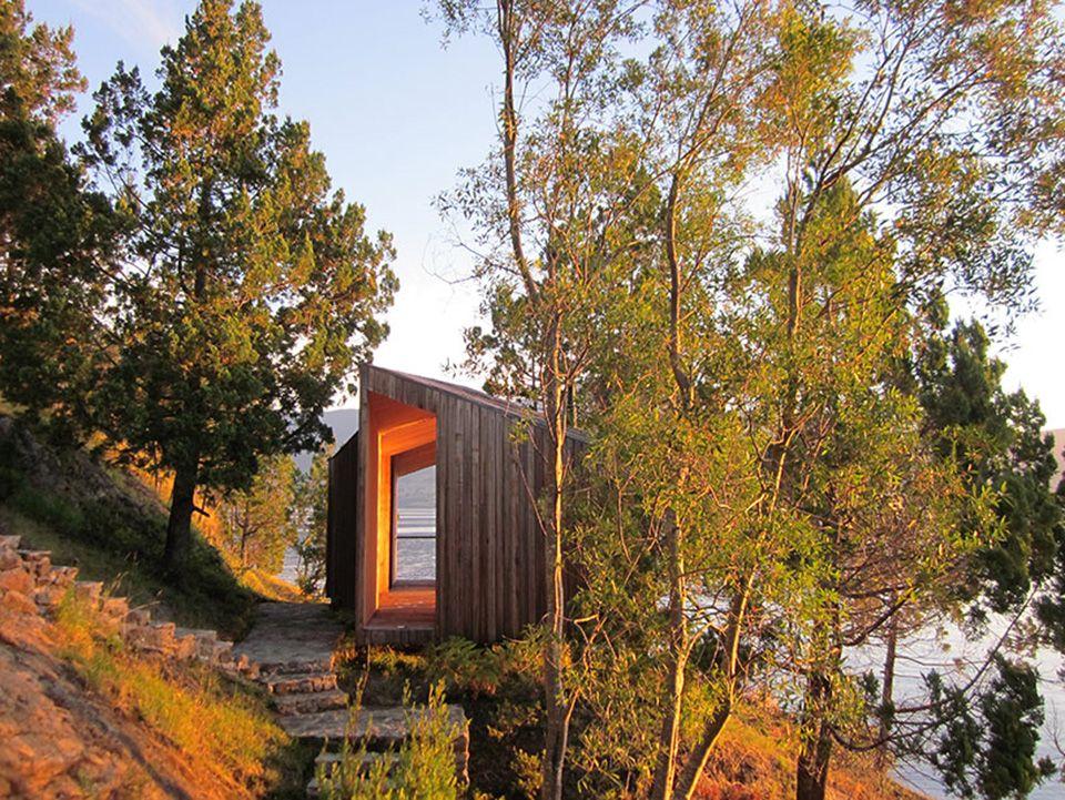 schlichtes sauna design holz seeblick | möbelideen, Badezimmer