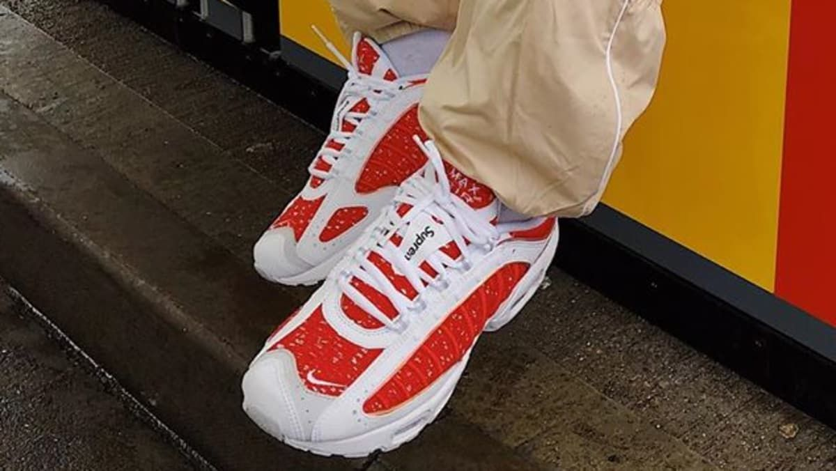 quality design c9bea 68cc2 Supreme x Nike Air Max Tailwind 4 Release Date | Sneakers in 2019 ...