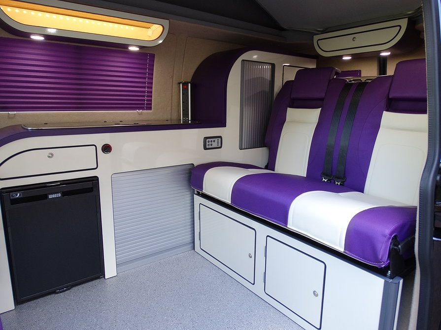 A Purple T5 Day Van Conversion Just Need That