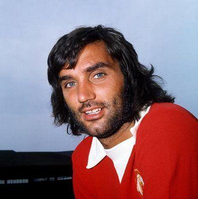 George Best. #ferguson, #rooney, #manutd, #soccer, #football, #oldtrafford, #butt, #neville, #busbybabes, #giggs, #best