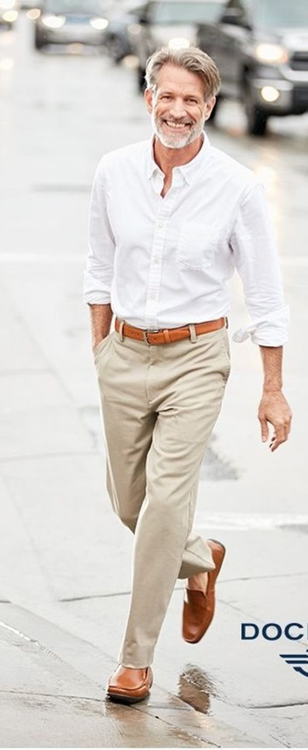 Dressing men over 50