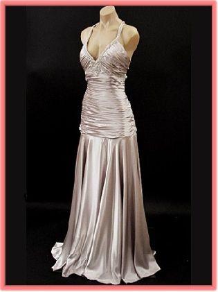 silver satin wedding dress | Wedding at Hawaii | Pinterest | Satin ...