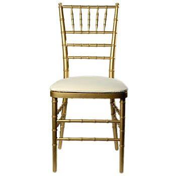 Mahaffey Gold Chiavari Chair Memphis Gold Chiavari