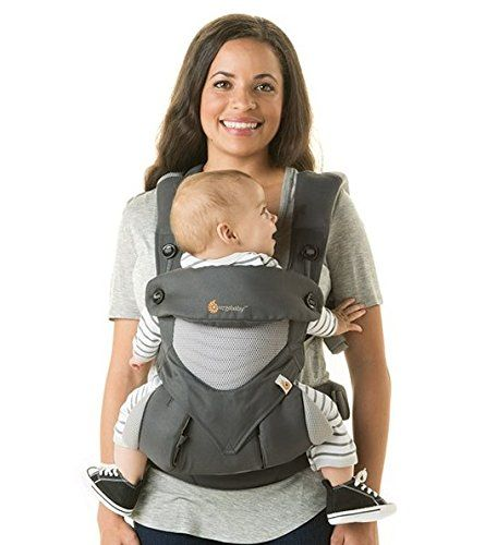 Ergobaby 360 Carrier with modd mini storage pocket Bundle for Ergo Baby  (Cool Air Mesh b9c360ae88b