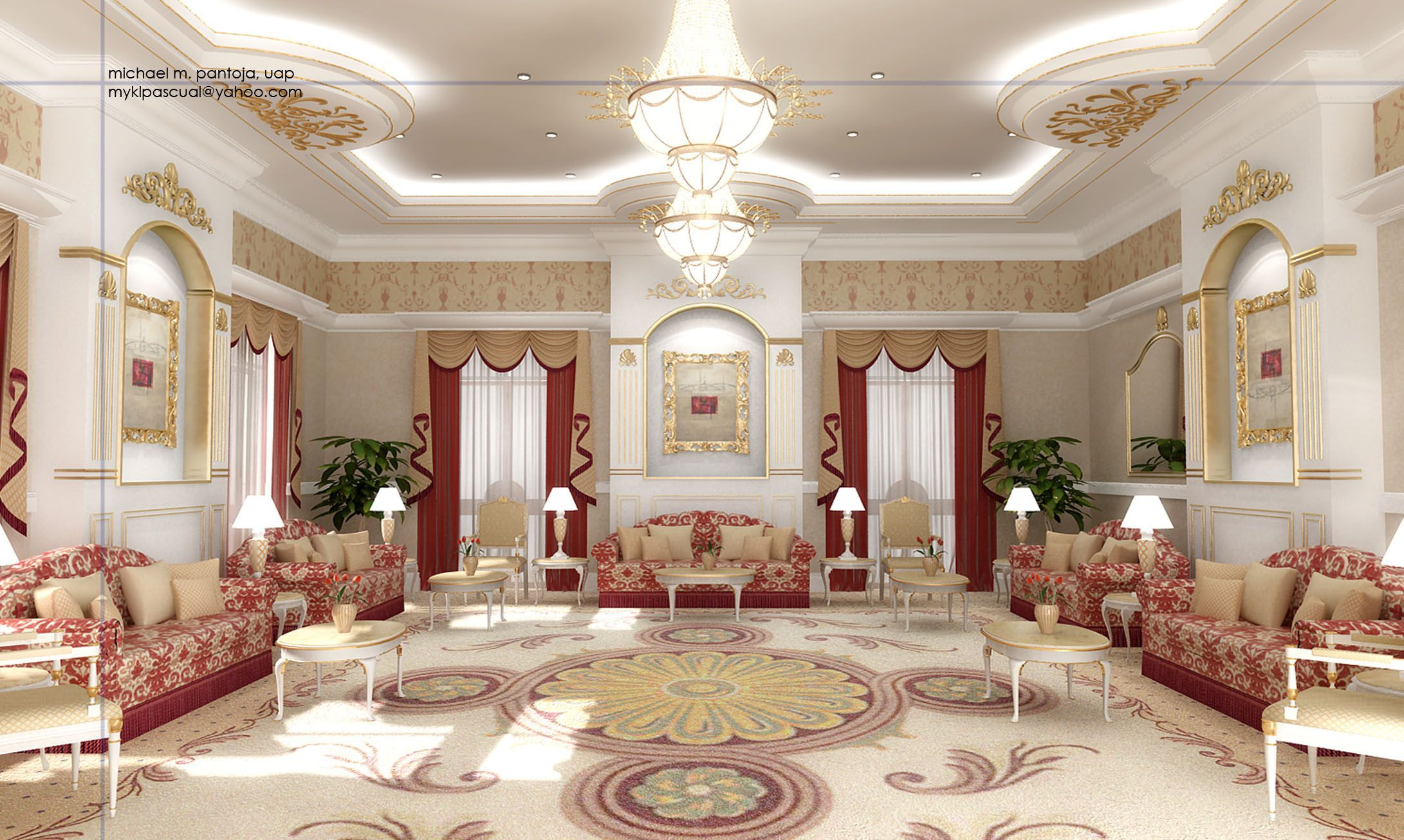 Arabic majlis designs arabic majlis http www for Arabic living room decoration