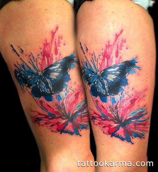 Photo Realistic Flower Tattoos Google Search: Best Watercolor Tattoos - Google Search