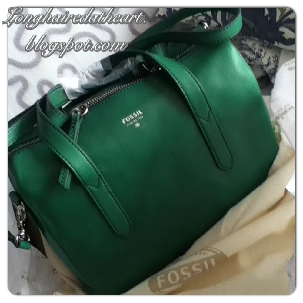 Purses Handbags Purse Handbag Tasche Crossbody Bowling Bag Satchel Sydney Fossil Teal Emerald Green Grün