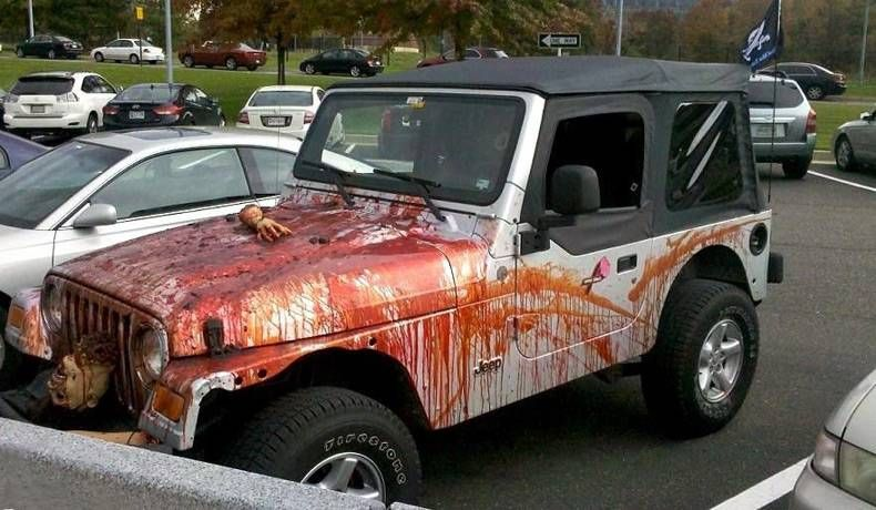 Pin by Best Jeep Apparels on Jeep Halloween Epic Ideas! Pinterest - halloween decorated cars