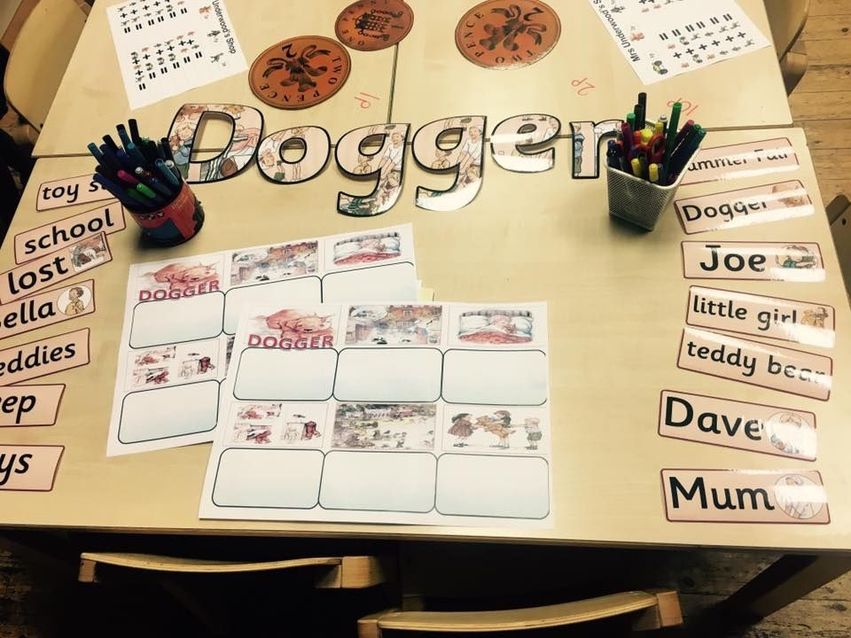 Three worksheets to support the story DOGGER | Classroom Ideas ...