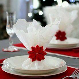 tischdeko serviettenring tischdeko h keln blumen h keln und weihnachten. Black Bedroom Furniture Sets. Home Design Ideas