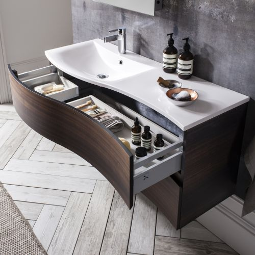 create a luxury look with the bauhaus svelte vanity unit