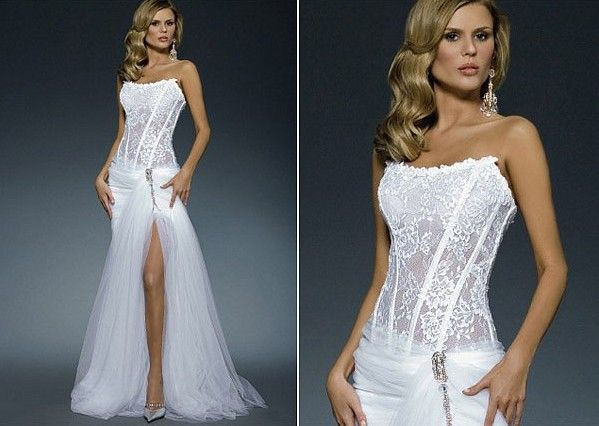 Cheap Wedding Dresses Usa: Cheap Wedding Set, Buy Quality See Through Corset Wedding