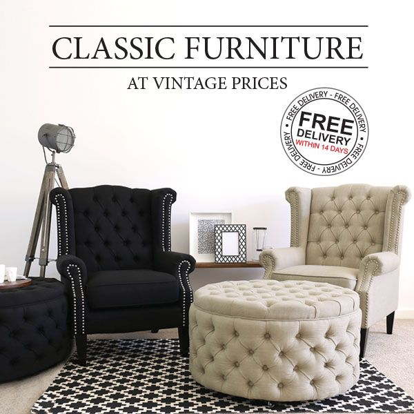 Charming New Regal Wingabacks And Granville Ottomans. Must Have Furniture Pieces  From Nedu0027s.